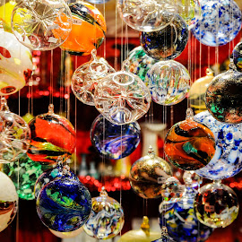 Christmas Market #2 by Jebark Fineartphotography - Public Holidays Christmas ( daley, daley square, market, street, christmas, chicago, ornaments, city )