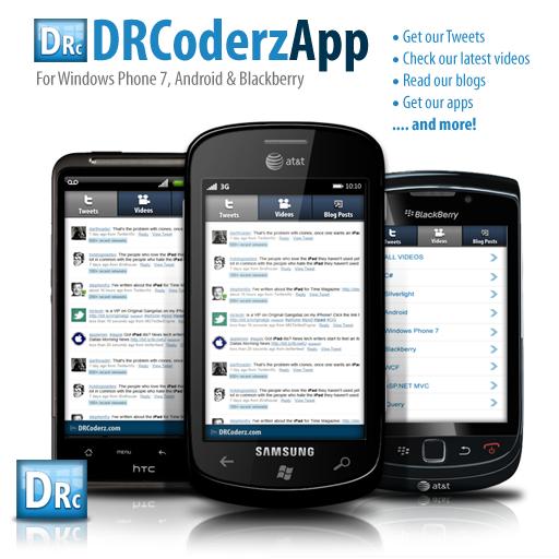 DRCoderz App LOGO-APP點子