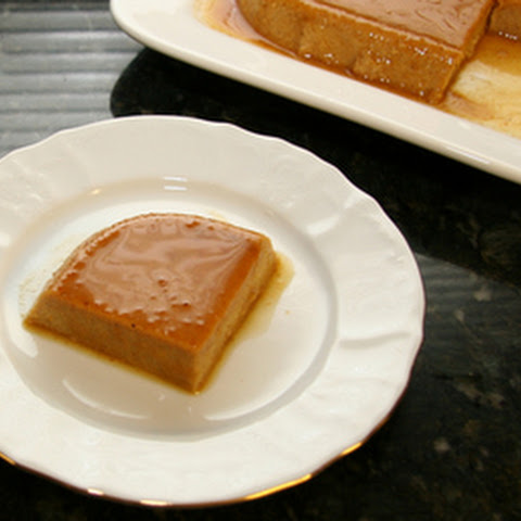 Pumpkin Maple Flan