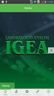 Laboratorio Igea - screenshot