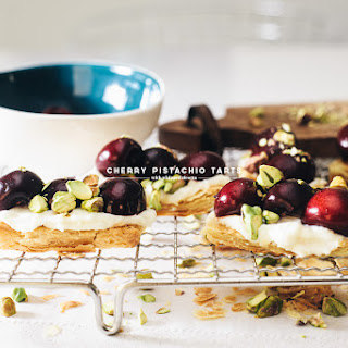 Easy Pistachio Cherry Tart Recipe and a Giveaway!