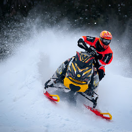 Team Ski-doo by Brian Coughlin - Sports & Fitness Motorsports ( winter, actionsports, traxxas, snowmobile racing, amsoil snowcross, brap )