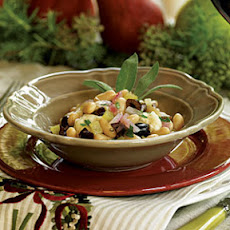 Warm Bean Salad with Olives