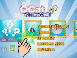 Screenshot of QCat - toddler ocean world