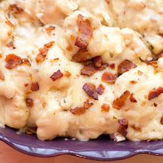 Creamy Cauliflower 'n Cheese with Bacon