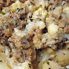 Italian Breaded Cauliflower