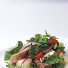 Potato, Italian Sausage, and Arugula Salad