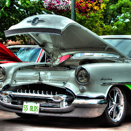 55 Olds by Victor Sanchez - Transportation Automobiles ( car, automobile, oldsmobile )