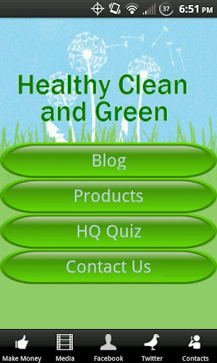 Healthy Clean and Green