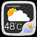 App BlackTransparent system widget version 2015 APK
