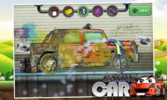 Screenshot of Car Wash & Design