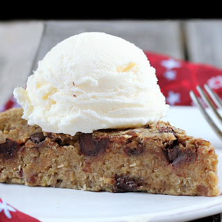 No Sugar Chocolate Chip Cookie Pie