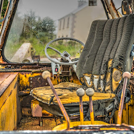 The old JCB by Liam Coburn Dunne - Transportation Other (  )