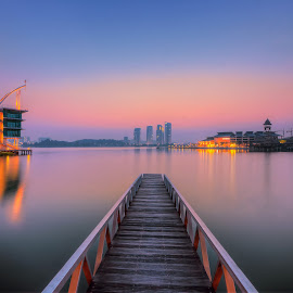 The Colours Of The Blue Hour by Mohd Tarmudi - Landscapes Sunsets & Sunrises ( pullman lakeside )