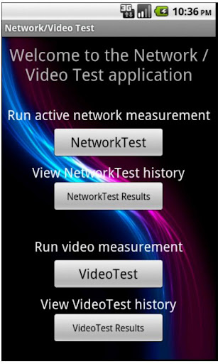 Network Video Test
