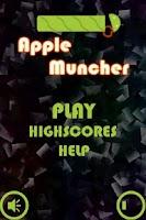 Screenshot of Apple Muncher