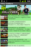 Screenshot of Videos TheWillyrex