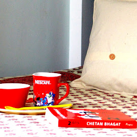 Coffee Time !!! by Abhijit Palit - Artistic Objects Cups, Plates & Utensils