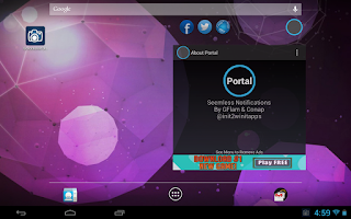 Screenshot of Portal (Floating Apps) [BETA]