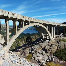 Donner Hwy Bridge by Samantha Linn - Buildings & Architecture Bridges & Suspended Structures