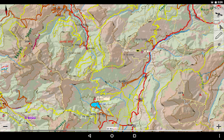 Screenshot of TopoNavigator Android