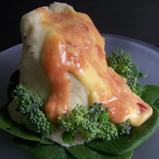Mashed Potato Volcanoes