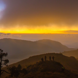 photographer in the mountain by Cristobal Garciaferro Rubio - Landscapes Mountains & Hills