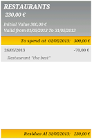 Screenshot of Savings Plan