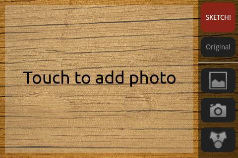 鉛筆のスケッチ写真効果