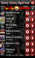 Screenshot of Best Heavy Metal Ringtones
