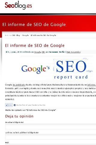 SEOblog.es - SEO SEM y SMO