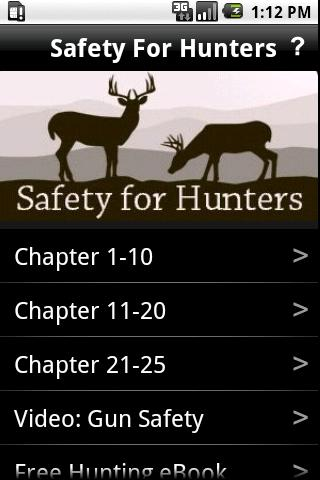 Safety for Hunters