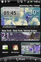 Screenshot of 9s-Weather Theme+ (Wonderland)