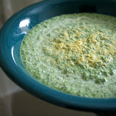 Alissa Cohen's Broccoli Soup (Raw Foods)