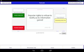 Screenshot of Decode Constitution