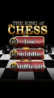 Screenshot of The King of Chess