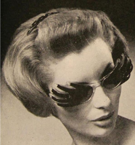 Gafas vintage raras del Museo de Gafas y anteojos de París