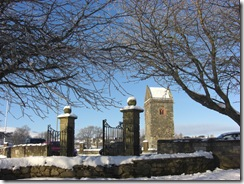 haylodge park gates and st andrews tower
