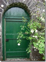 walled garden door