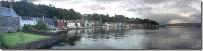 tobermory from macgoghan's pier