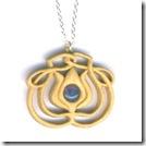 woodland treasures holly pendant
