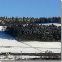 snow accident on A72