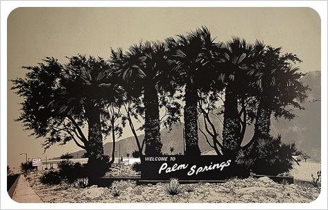 winter heat, palm springs cool