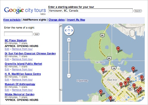 google city tours + sightseeing
