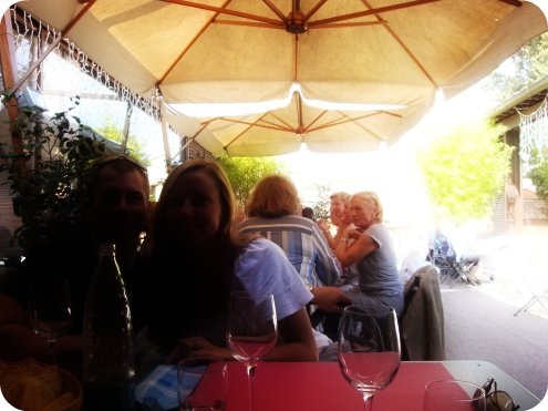 lunch in lucca