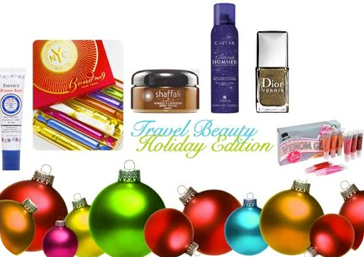holiday travel beauty ideas
