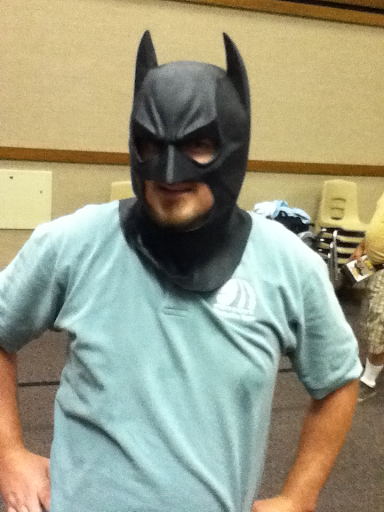 Gary with batman mask