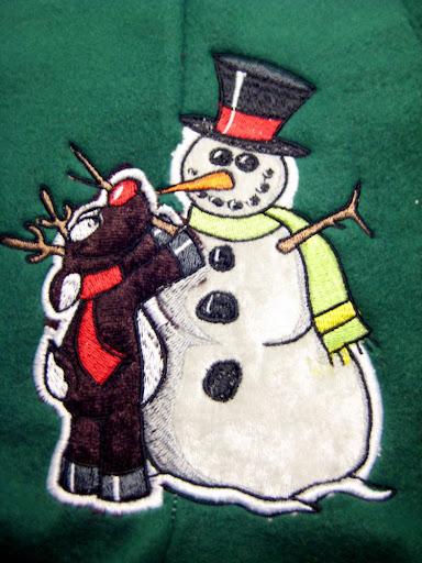 Finishing Frosty