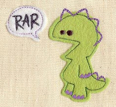 Rar Monster Applique