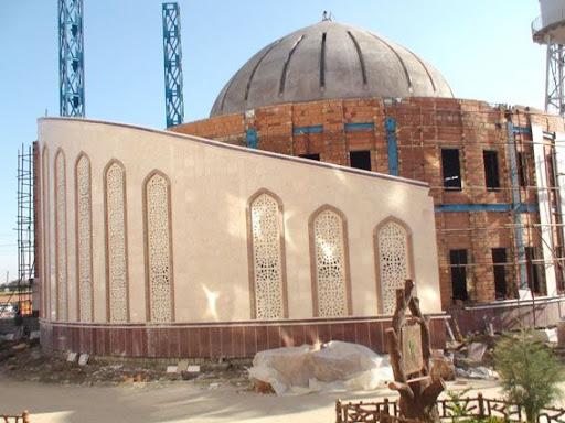مسجد در حال ساخت دانشگاه آزاد اسلامي ساري